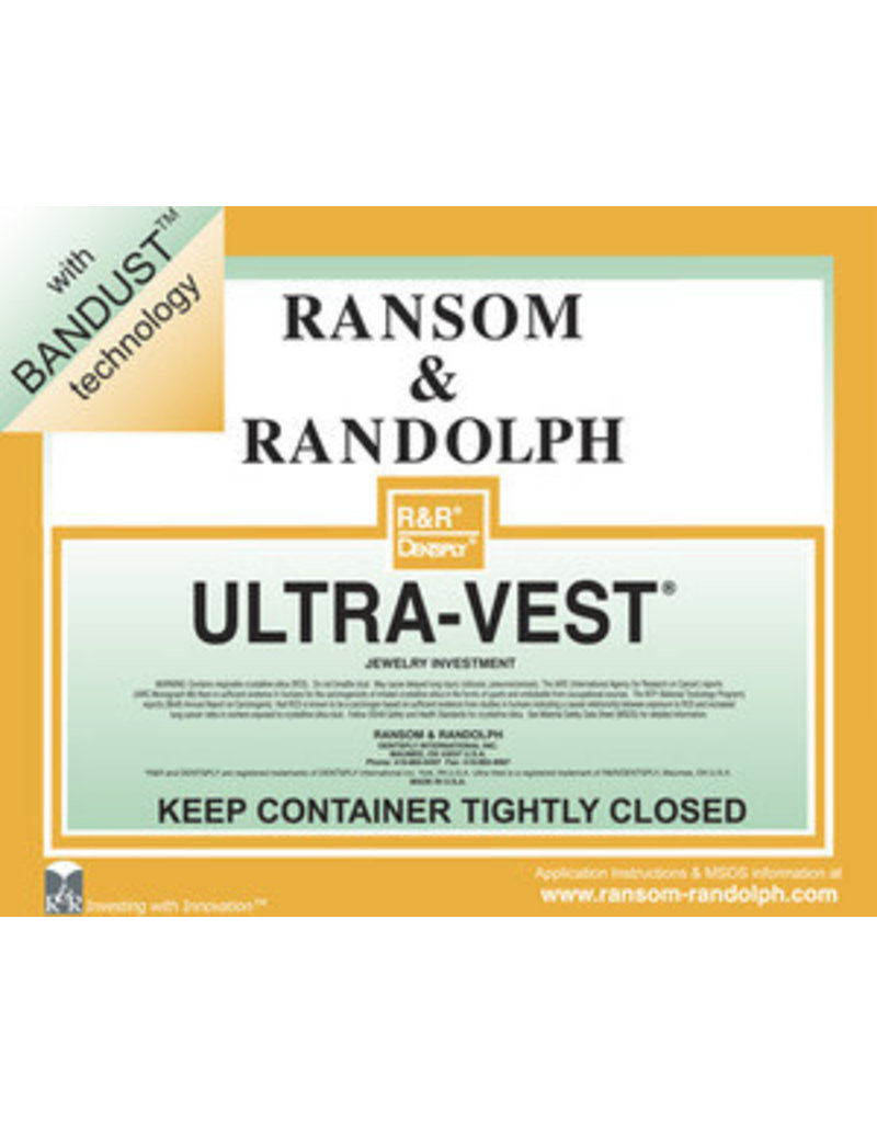 Ransom & Randolph Ultra-Vest with Bandust technology 44lb