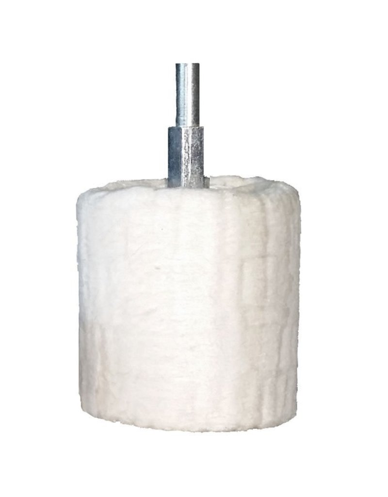"Dico Facer Buff Cylinder 1.5"" D 1/4"" Shank"