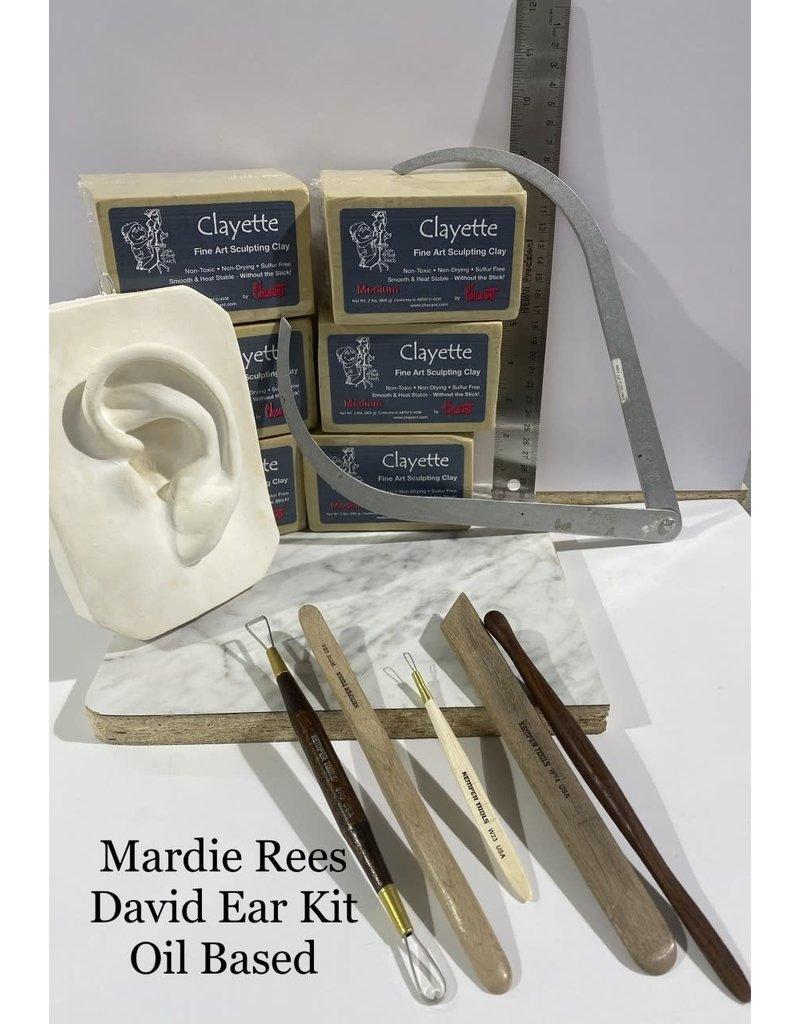 Just Sculpt Mardie Rees David Ear Sculpting Kit - Oil Based