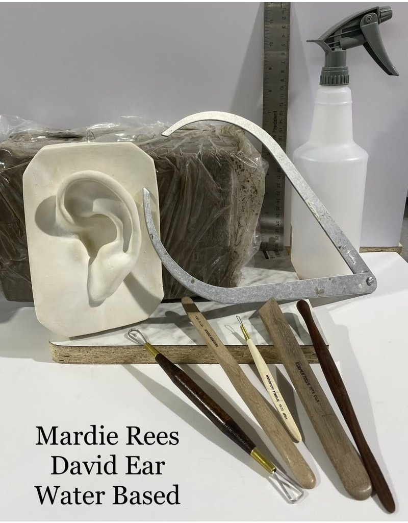 Just Sculpt Mardie Rees David Ear Sculpting Kit - Water Based