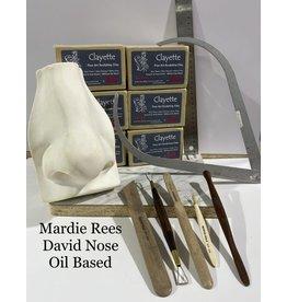 Just Sculpt Mardie Rees David Nose Sculpting Kit - Oil Based