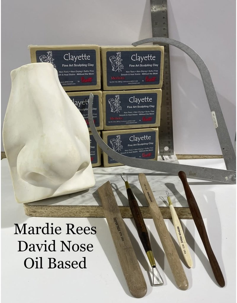 Just Sculpt Mardie Rees David Nose Sculpting Kit - Oil Based