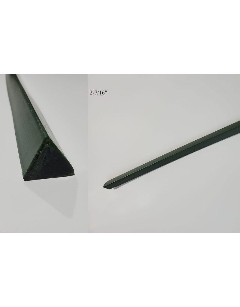 "Paramelt Wax Sprue Green Triangle Solid  2-7/16"" 62lb Case"