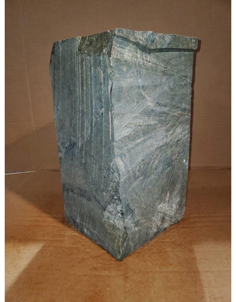 "Just Sculpt Green Nephrite Jade 6""x6""x12"" 62lb J001"