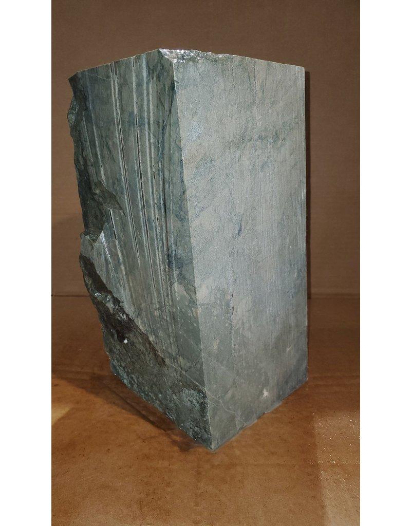 "Just Sculpt Green Nephrite Jade 6""x6""x12"" 63lb J002"
