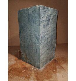 "Just Sculpt 55lb Green Nephrite Jade 6""x6""x12"" J007"