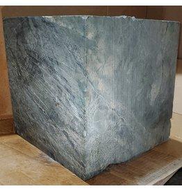 "Just Sculpt 213lb Green Nephrite Jade 12""x12""x12"" Block J021"