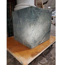 "Just Sculpt Green Nephrite Jade 12""x12""x12"" 208lb Block J022"