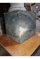 """Just Sculpt 208lb Green Nephrite Jade 12""""x12""""x12"""" 208lb Block J022"""