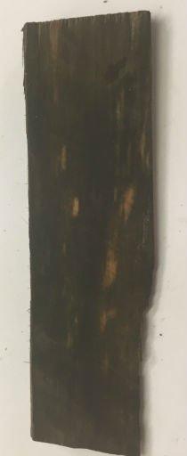 Wood Ebony Chunk 4.5x1x.25 #011037