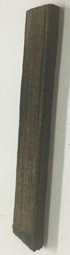 Wood Ebony Chunk 4.5x.5x.25 #011038