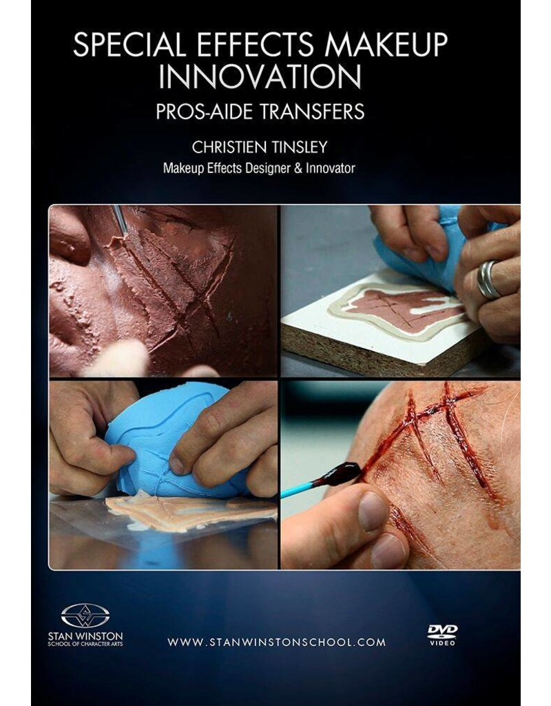 Stan Winston How To Make Pros-aide Transfers Tinsley DVD