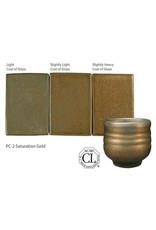 Amaco High Fire Potters Choice Glaze Saturation Gold PC-02