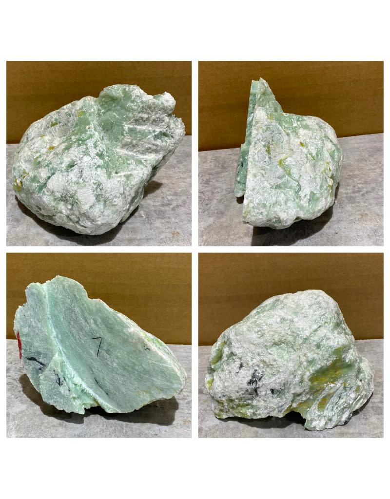 Stone 7lb Aqua Soapstone 7x5x5 #080002