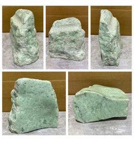 Stone 12lb Aqua Soapstone 7x7x4 #080000