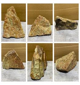 Stone 7lb Gala Red Soapstone 7x6x4 #031050