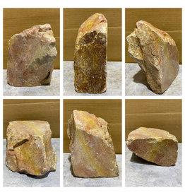 Stone 18lb Gala Red Soapstone 9x6x4 #031049