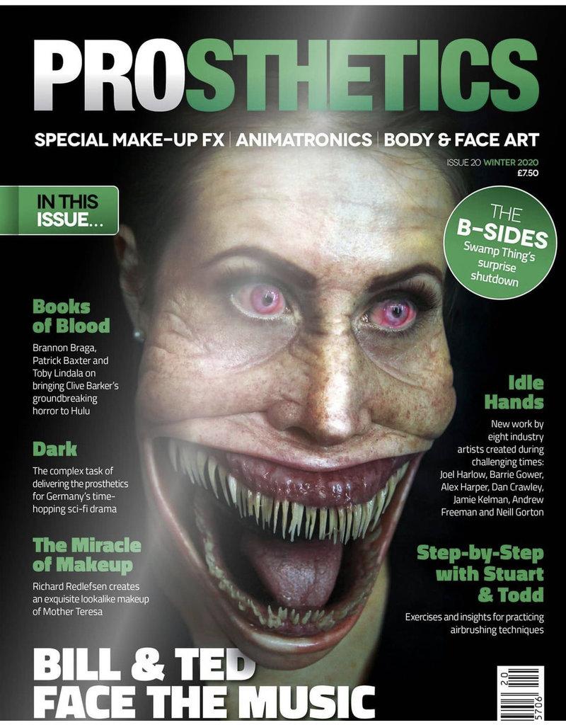 Gorton Studios Prosthetics Magazine #20