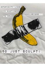 Just Sculpt Banana T-Shirt Large