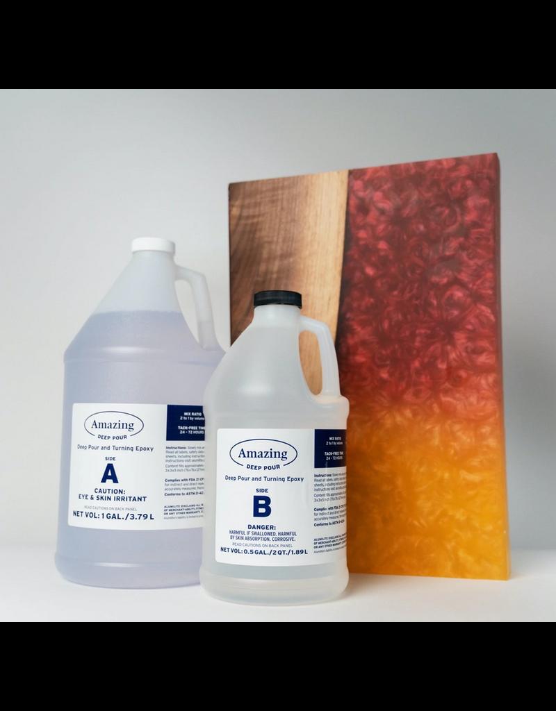 Alumilite Corporation Deep Pour Epoxy 1.5 Gallon Kit