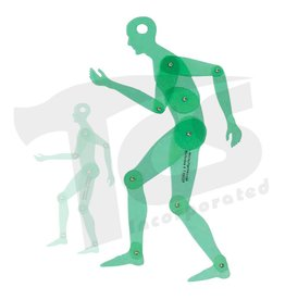 Movable Human Figure Template  13""