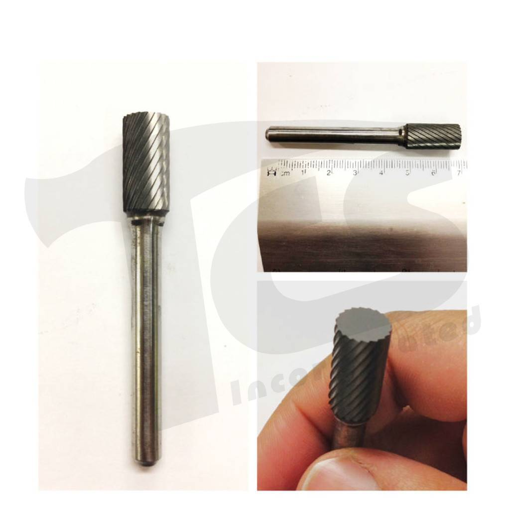 Cylinder Single Cut Carbide Burr SA-3