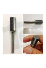Cylinder End Cut Single Cut Carbide Burr SB-5