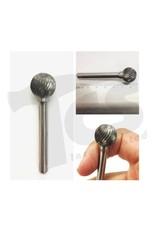Sphere Single Cut Carbide Burr SD-6