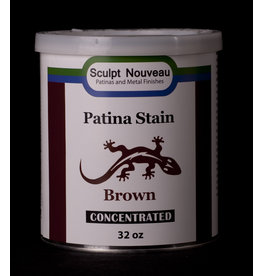 Sculpt Nouveau Patina Stain Brown 32oz