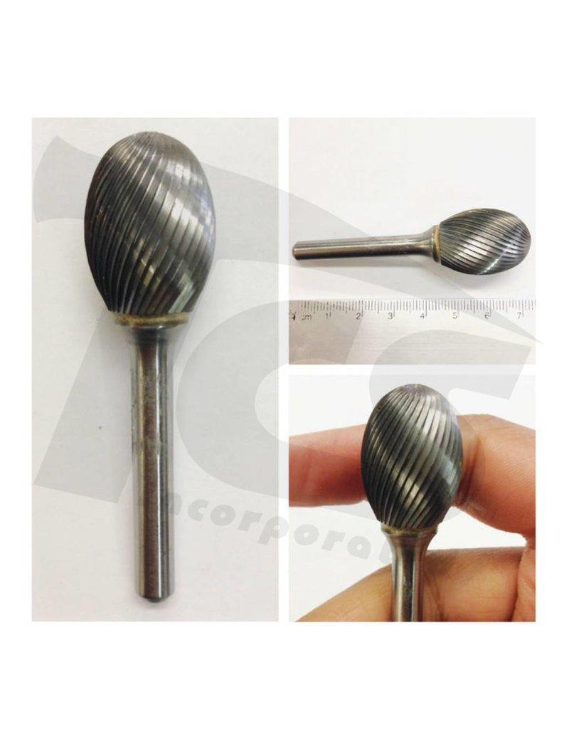 Just Sculpt Oval Single Cut Carbide Burr SE-6