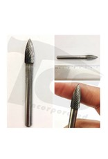 Pointed Tree Single Cut Carbide Burr SG-2
