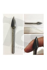 Just Sculpt Pointed Tree Single Cut Carbide Burr SG-3