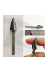 Just Sculpt Pointed Tree Single Cut Carbide Burr SG-5