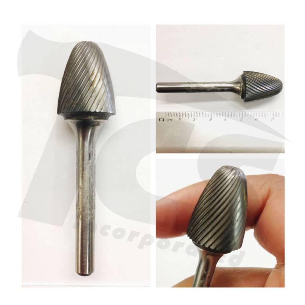 Round Tree Single Cut Carbide Burr SF-7