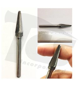 14D Taper Single Cut Carbide Burr SL-3