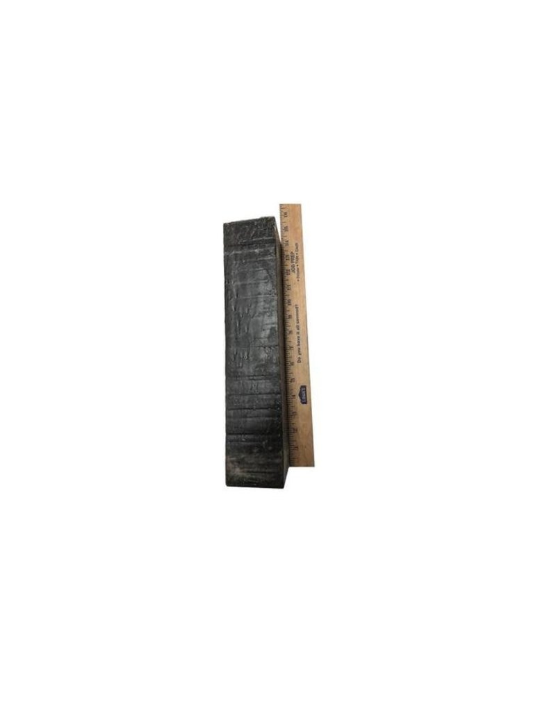 Wood Gaboon Ebony Block 3x3x12