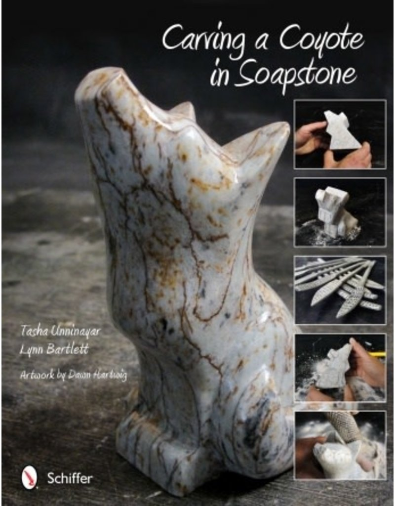 Schiffer Publishing Carving a Coyote in Soapstone Book