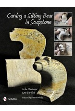 Schiffer Publishing Carving a Sitting Bear in Soapstone Book