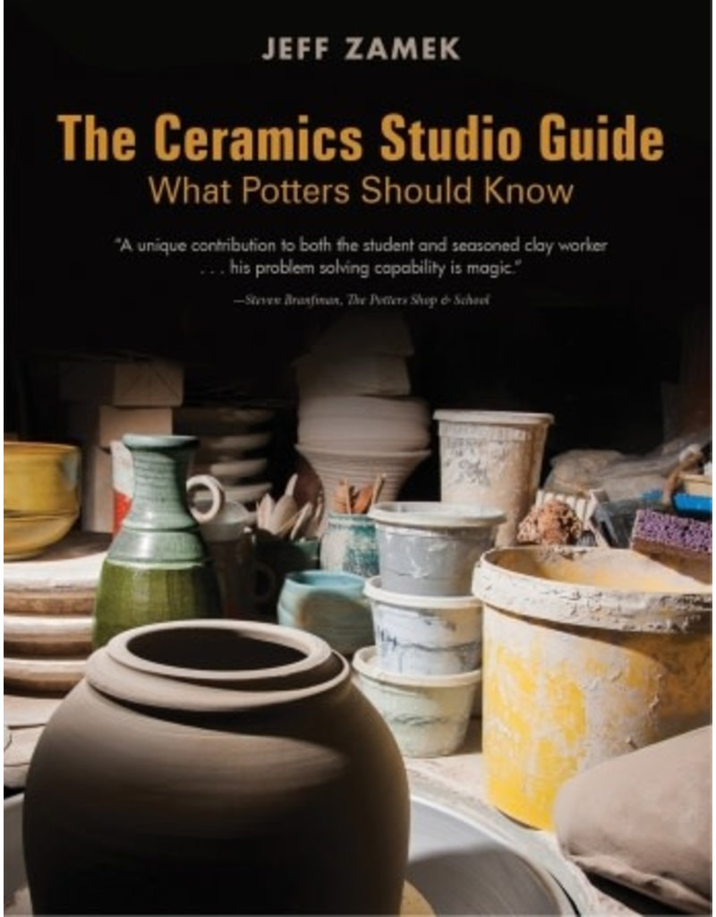 Schiffer Publishing The Ceramics Studio Guide: What Potters Should Know