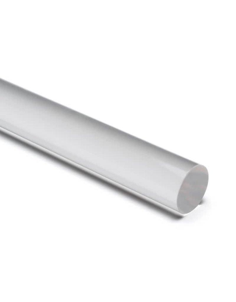 """Clear Acrylic Rod 5/8"""" 9"""