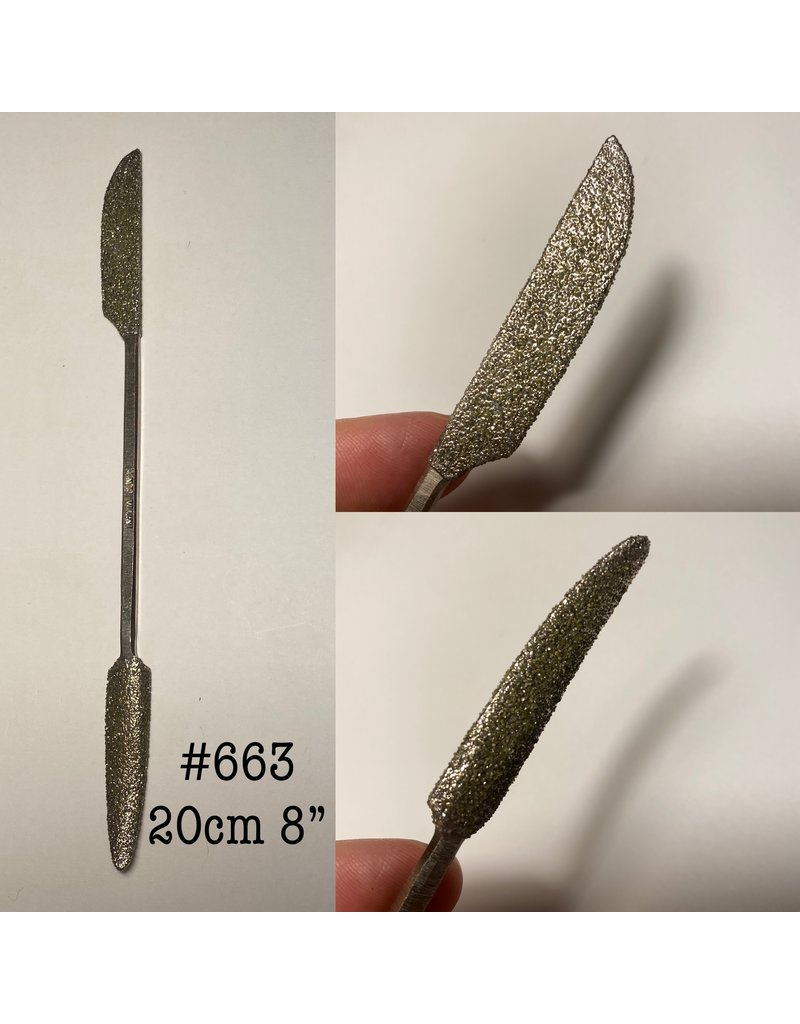 Milani Diamond Riffler #663 08'' (20cm)