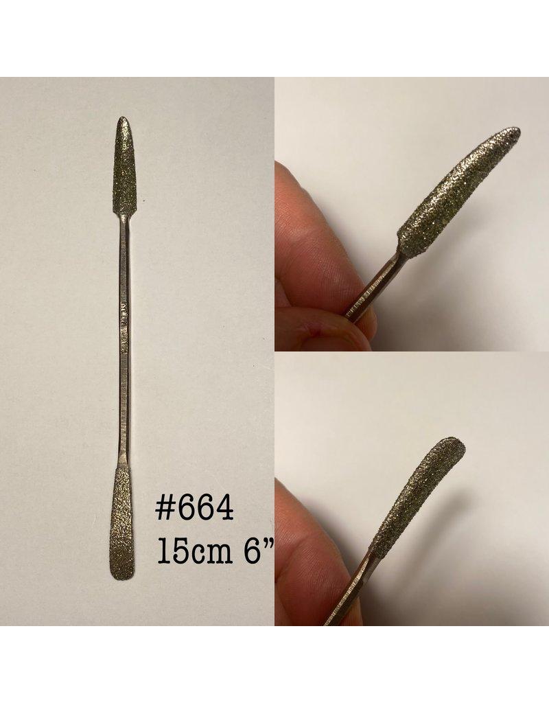 Milani Diamond Riffler #664 06'' (15cm)