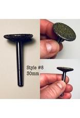 """Just Sculpt Diamond Burr 1-1/4"""" (30mm) 1/4"""" Shaft #8"""