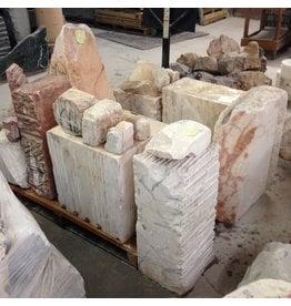 Stone Portuguese Pink Marble Per Pound