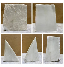 Stone 13lb Statuario Puro Bianco Marble 4x6x8 #361032