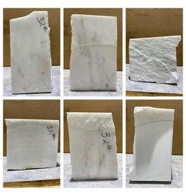 Stone 32lb Statuario Puro Bianco Marble 4x8x8 #361031