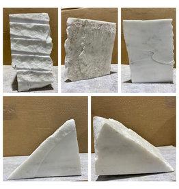 Stone 25lb Statuario Puro Bianco Marble 5x9x11 #361030