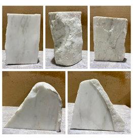 Stone 26lb Statuario Puro Bianco Marble 6x7x10 #361026