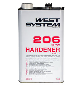 West System 206C Slow Hardener 121oz