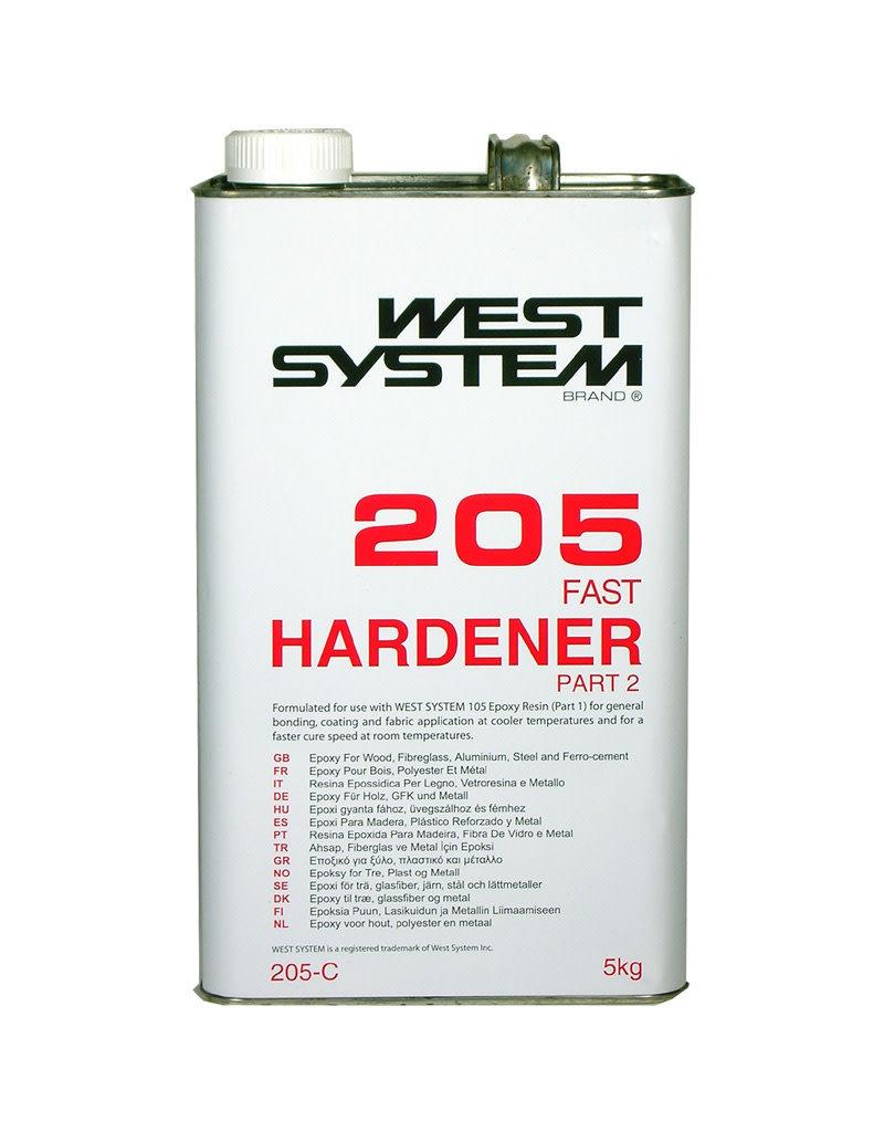 West System 205C Fast Hardener 121oz